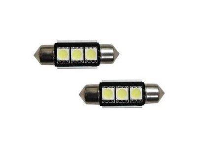 LED sijalice 70196 - C5W, 12V, 3xSMD, bela, 2 komada