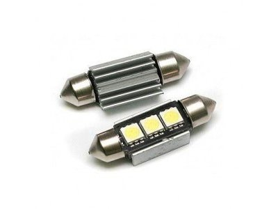 LED sijalice  70212 - C5W, 12V, 3xSMD, bela, 2 komada