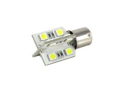 LED sijalice BA15S, 12V, 16xSMD, bela, 2 komada