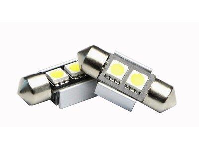 LED sijalice C5W, 12V, 2xSMD, bela, 2 komada