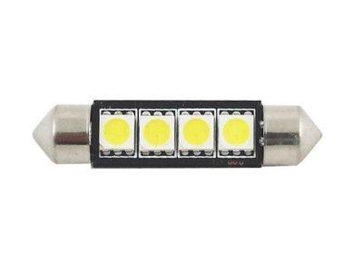 LED sijalice C5W, 12V, 4xSMD, bela, 2 komada
