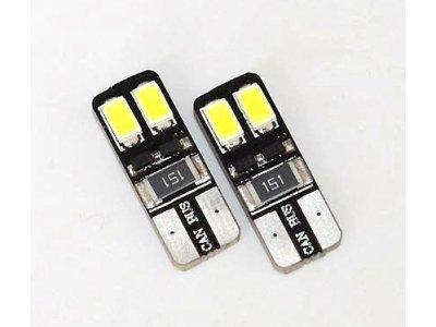 LED sijalice T10, 12V, 2xSMD, bela, 2 komada