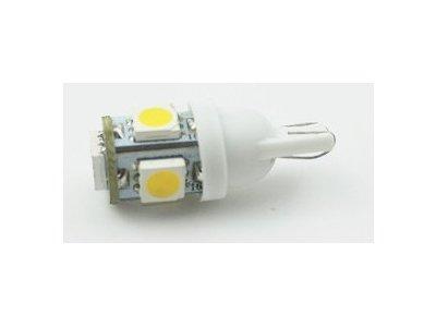 LED sijalice T10, 24V, 5xSMD, bela, 2 komada