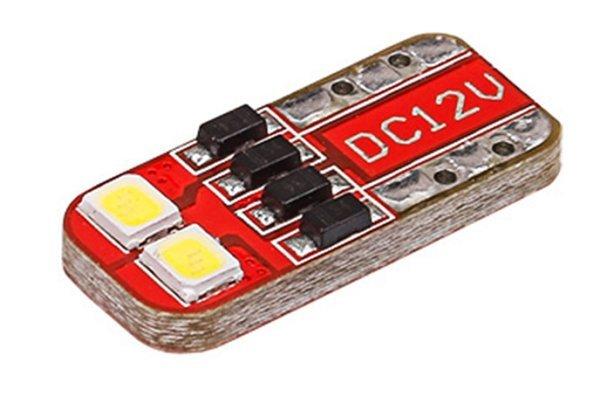 LED sijalice T10-W5W, 10-14V, 2xSMD, 2 komada,12 mesečna garancija