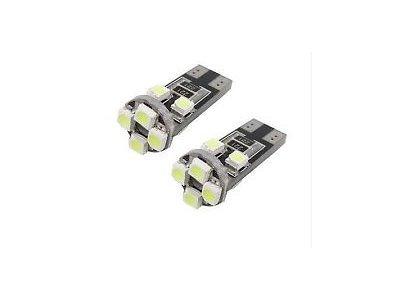 LED sijalice W5W, 12V, 8xSMD, bela, 2 komada