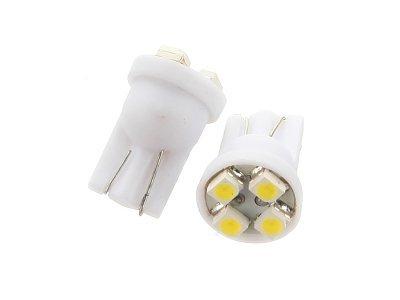 LED sijalice W5W/T10, 12V, 4xSMD, bela, 2 komada