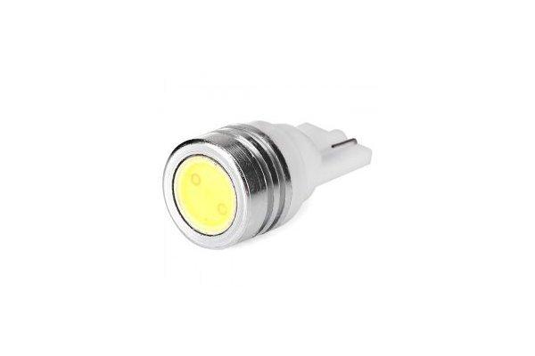 LED žarnice 12V, 1x1W, bela, 2 kosa