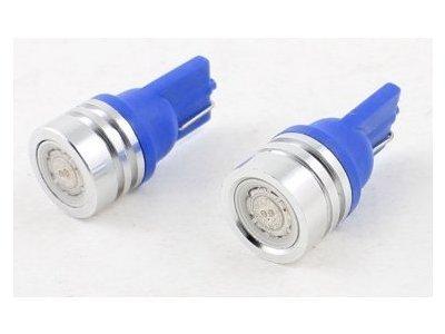 LED žarnice 12V, 1x1W, modra, 2 kosa