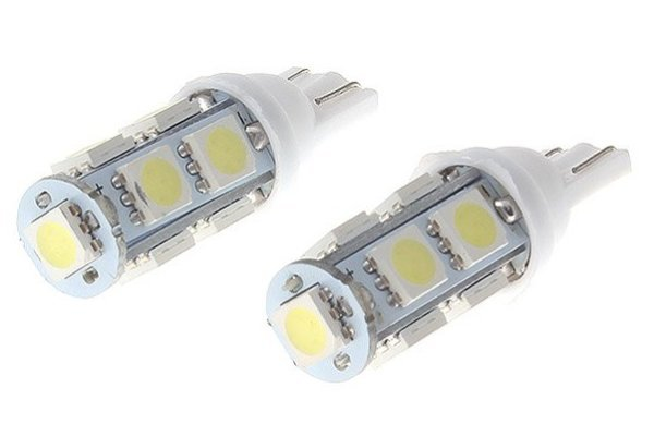 LED žarnice 70151 - 12V, 9xSMD, bela, 2 kosa