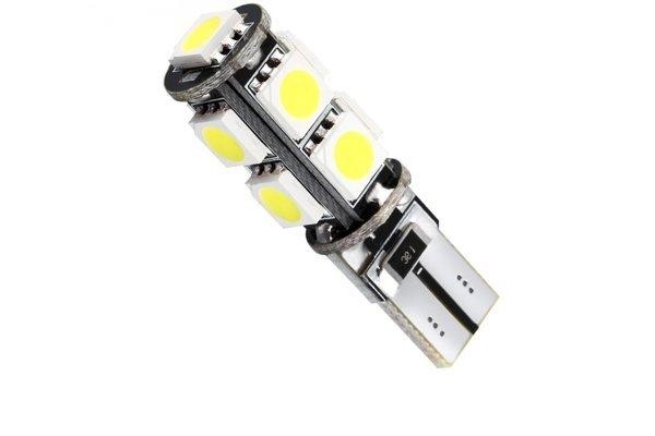LED žarnice 70174 - 12V, 9xSMD, bela, 2 kosa