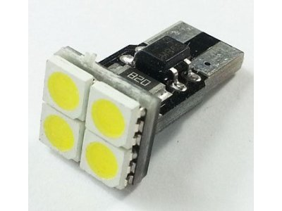LED žarnice 70179 - W5W/T10, 12V, 4xSMD, bela, 2 kosa