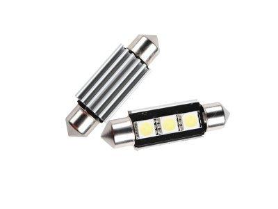 LED žarnice 70199 - C5W, 12V, 3xSMD, bela, 2 kosa