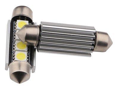 LED žarnice 70210 - C5W, 12V, 4xSMD, bela, 2 kosa