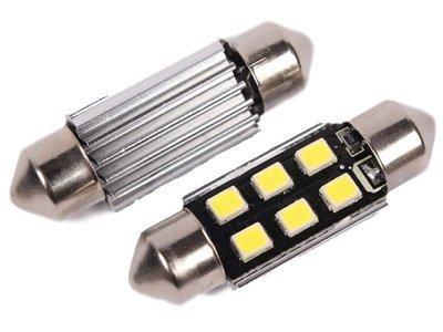 LED žarnice 9-30V, 6xSMD, 270Lm, 41mm, CANBUS, 2 kosa, 12 mesečna garancija, PREMIUM