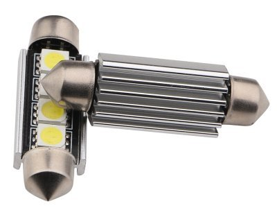 LED žarnice C5W, 24V, 4xSMD, bela, 2 kosa