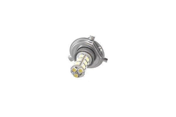 LED žarnice H4 12V, 18xSMD, bela, 1 kos