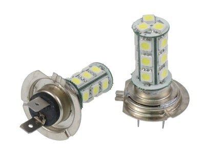 LED žarnice H7 24V, 18xSMD, bela, 2 kosa