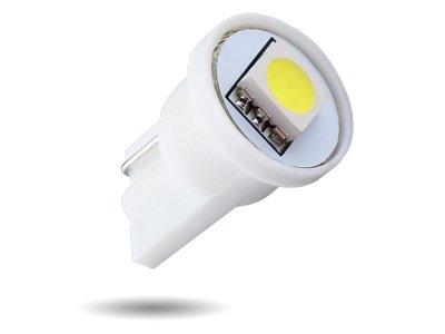 LED žarnice T10, 12V, 1xSMD, bela, 2 kosa