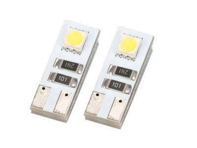 LED žarnice T10, 12V, 2xSMD, bela, 2 kosa