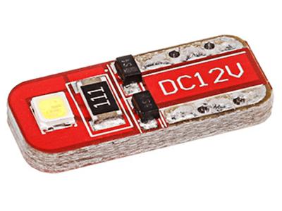 LED žarnice T10, 9-16V, 2xSMD, 2 kosa, 12 mesečna garancija, PREMIUM