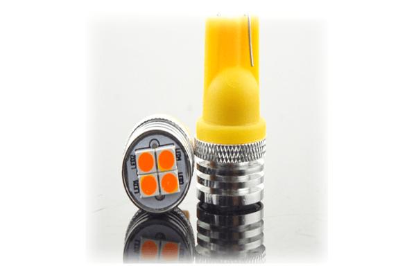 LED žarnice T10, 9-16V, 4xSMD, 1.5W/130Lm, 2 kosa, CANBUS, 12 mesečna garancija, PREMIUM