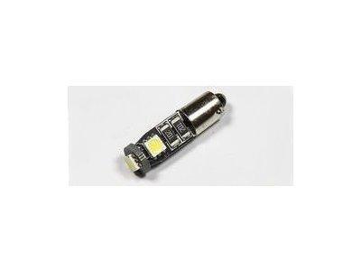 LED žarnice T4W, 24V, 3xSMD, bela, 2 kosa