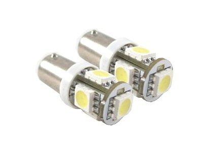 LED žarnice T4W, 24V, 5xSMD, bela, 2 kosa