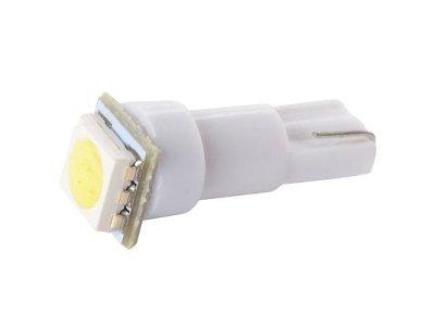 LED žarnice T5, 12V, 1xSMD, bela, 2 kosa