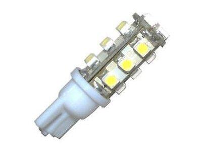 LED žarnice W5W/T10, 12V, 15xSMD, bela, 2 kosa
