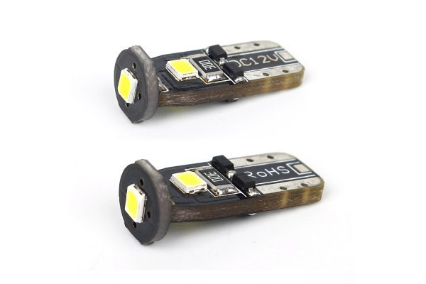 LED žarulje 10-14V, 3xSMD, 1W/120Lm, 2 komada, 12 mjeseci garancija, PREMIUM