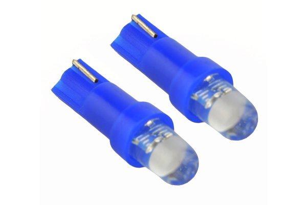 LED žarulje 12V, LED FLUX, plava, 2 komada