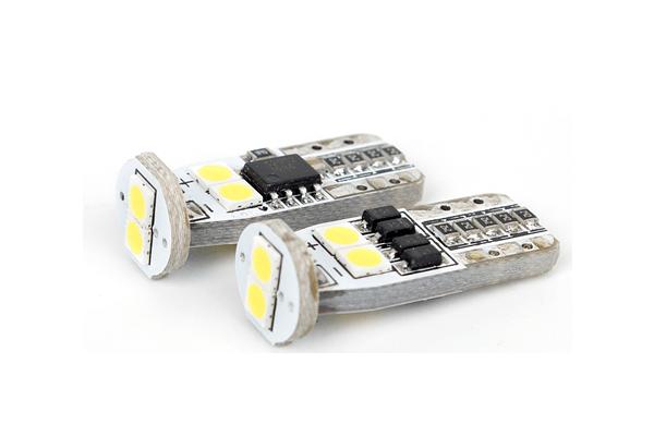 LED žarulje 9-16V, 6xSMD, 1.5W/130Lm, CANBUS, 2 komada, 12 mjeseci garancija, PREMIUM
