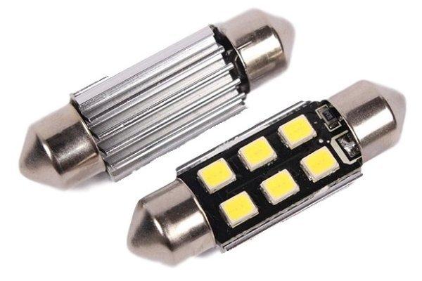 LED žarulje 9-30V, 6xSMD, 270Lm, 41mm, CANBUS, 2 komada, 12 mjeseci garancija, PREMIUM