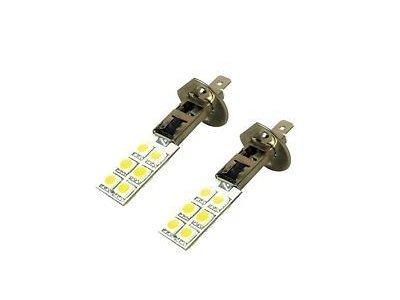 LED žarulje H1, 12V, 12xSMD, bijela, 2 komada