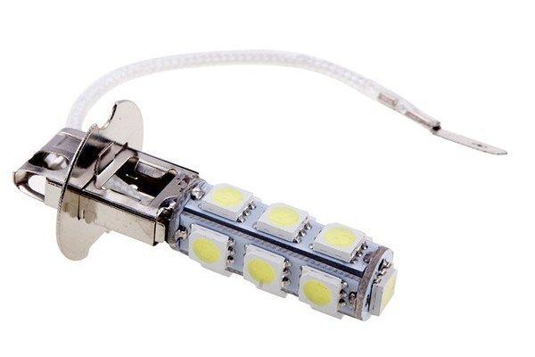 LED žarulje H3, 12V, 13xSMD, bijela, 2 komada