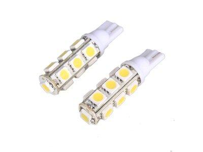 LED žarulje T10, 12V, 13xSMD, bijela, 2 komada