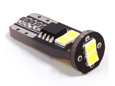 LED žarulje T10-W5W, 9-16V, 6xSMD, 2 komada, 12 mjesečna garancija
