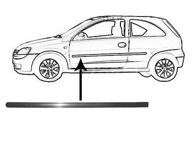 Leiste Türen Opel CORSA C 00-06 3 Türen