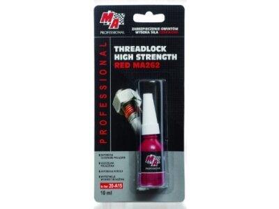 Lepilo za vijake STRONG RED MA262 MA Professional, 10 ml, rdeče