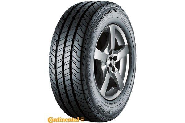 Letne pnevmatike CONTINENTAL ContiVanContact 100 225/55R17C 109/107H