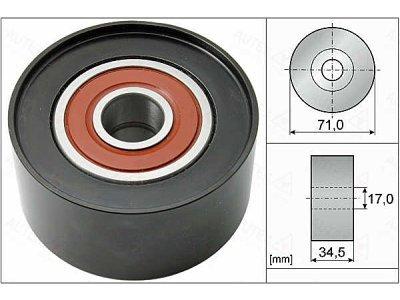 Ležaj mikro jermena RC500138 - Mazda
