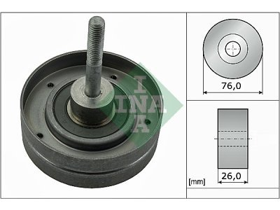 Ležaj mikro kaiša  532035410 - Nissan Alemra 00-06