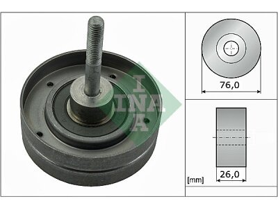 Ležaj mikro remena 532035410 - Nissan Alemra 00-06