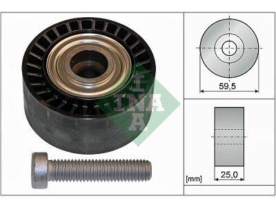 Ležaj mikro remena 532043310 - Peugeot 206 98-09