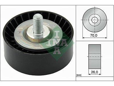 Ležaj mikro remena 532047510 - BMW Serije 1 04-11