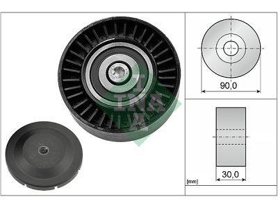 Ležaj mikro remena 532051410 - BMW Serije 1 04-11