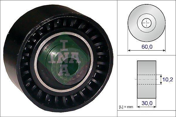 Ležaj zobatega jermena 532028910 - Citroen C5 01-08-