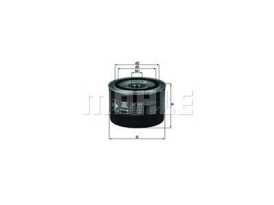 Ölfilter 111020 - Opel
