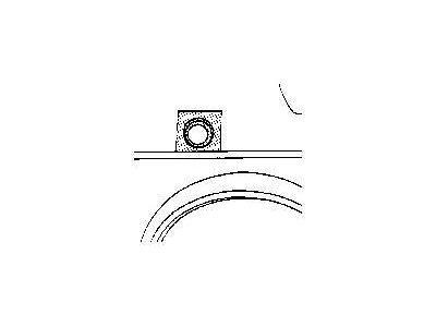 Lim oko otvora rezervoara VW Golf II 83-91