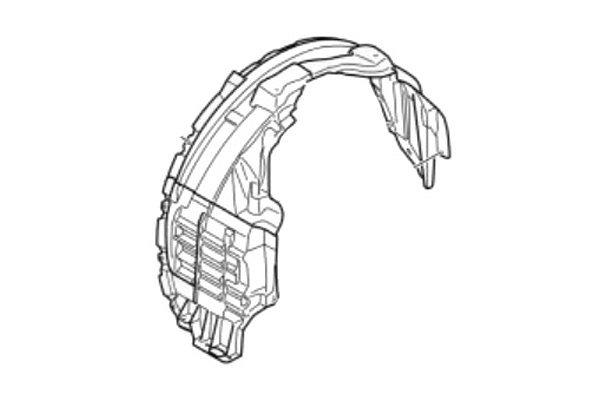 Luk blatobrana Peugeot 4007 07-